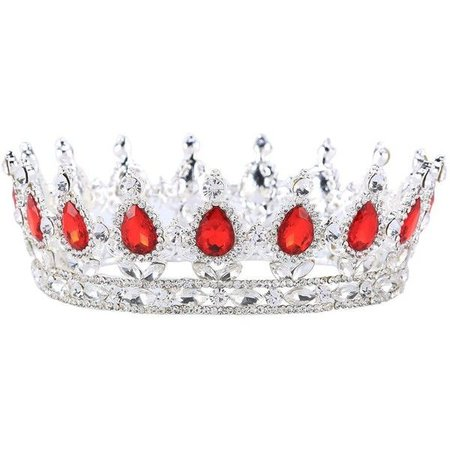 Red & Silver Crown