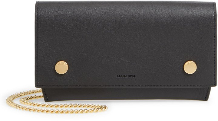 Albert Leather Wallet on a Chain
