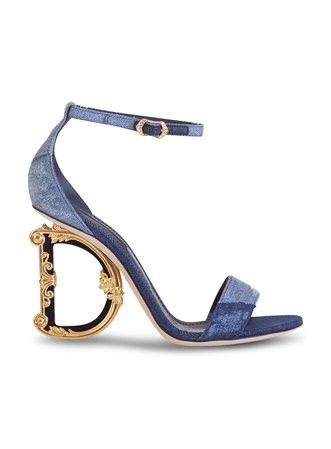 Dolce & Gabbana Sculpted High Heel Sandals