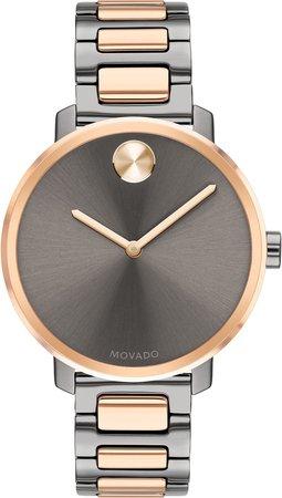 Bold Bracelet Watch, 34mm