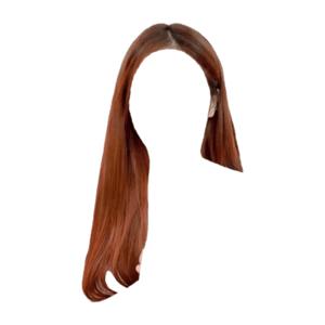 red or auburn hair