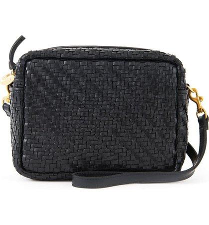 Clare V. Midi Sac Woven Leather Crossbody Bag | Nordstrom