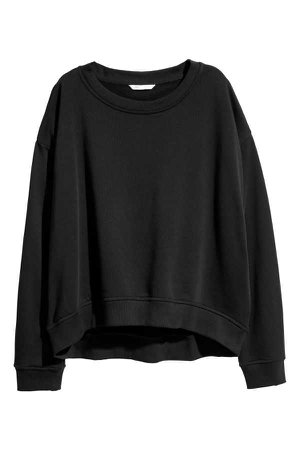 Sweatshirt   Black   LADIES   H&M NZ