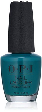 OPI Nail Lacquer Grease Collection, Teal