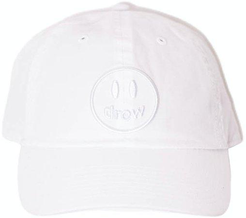 drew house mascot dad hat white - SS21