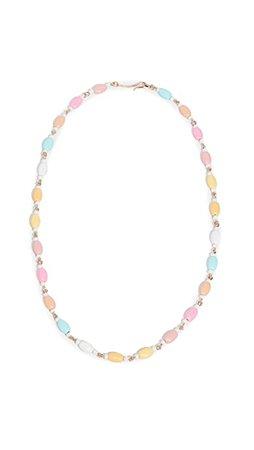 Roxanne Assoulin Delicate Neon Lentil Necklace | SHOPBOP