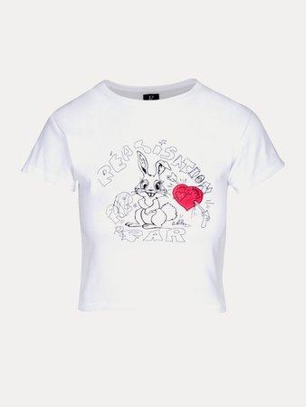 The Bunny Tee   Red Heart   Réalisation par