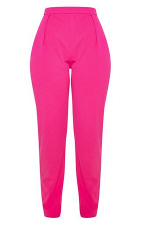 Pink Cigarette Trouser | Trousers | PrettyLittleThing