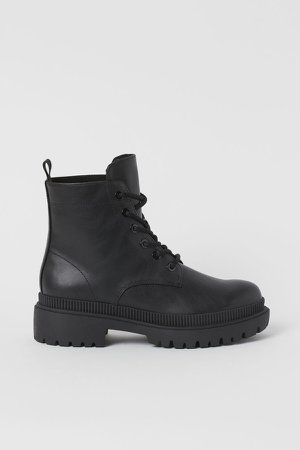 Chunky Boots - Black
