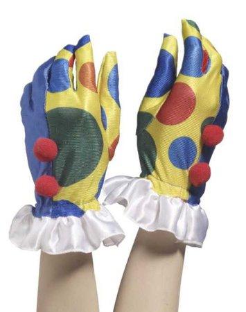 clown hands