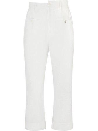 Dolce & Gabbana asymmetric waistband trousers - FARFETCH
