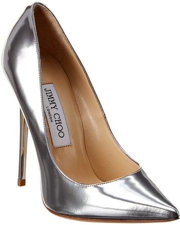 Anouk 120 Metallic Leather Pump