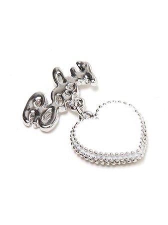 BABY Heart Earrings (Accessories / Pierce) | Mail Order of BUBBLES (Bubbles) | Fashion Walker