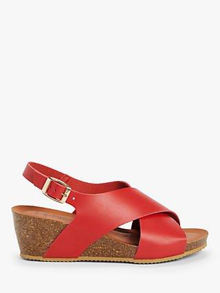 Women's Red Sandals | John Lewis & Partners