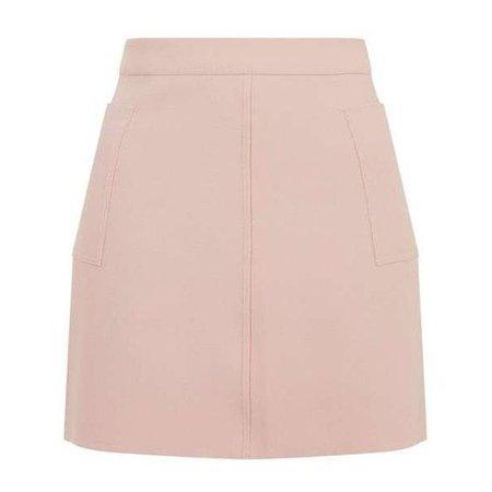 TopShop Crepe Pocket Mini Skirt