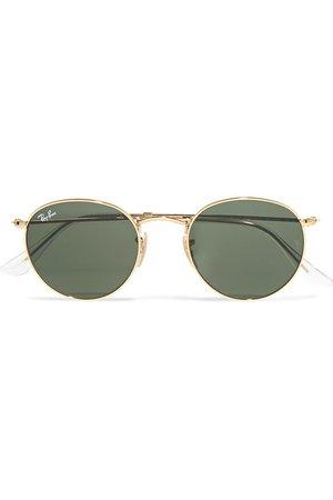 Ray-Ban   Round-frame gold-tone sunglasses   NET-A-PORTER.COM