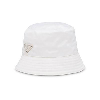white prada bucket hat - Google Search