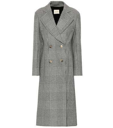 The Violet wool-blend coat