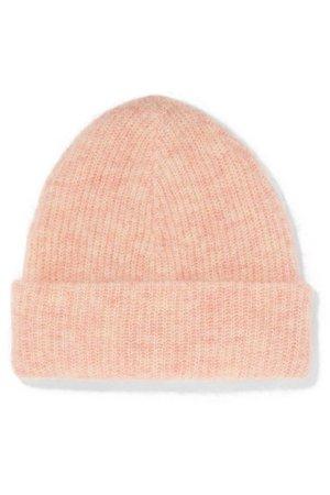 GANNI | Ribbed-knit beanie | NET-A-PORTER.COM