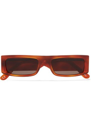 Andy Wolf | Hume square-frame tortoiseshell acetate sunglasses | NET-A-PORTER.COM