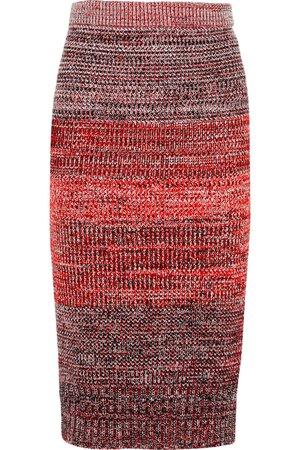 Burberry | Knitted midi skirt | NET-A-PORTER.COM