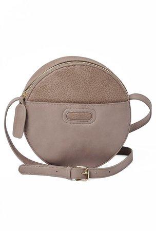 Carousel Vegan Leather Crossbody Bag