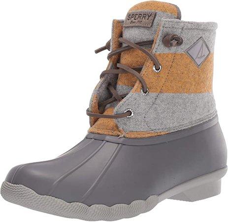 Sperry Women's Saltwater Varsity Stripe Wool Boots