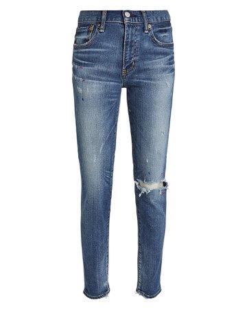 Coronado Distressed Skinny Jeans