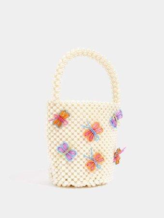 Sam Butterfly Tote Bag | Pearl Bag | Skinnydip London