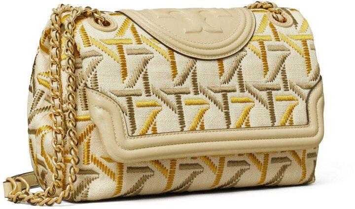 Fleming Soft Embroidered Convertible Shoulder Bag