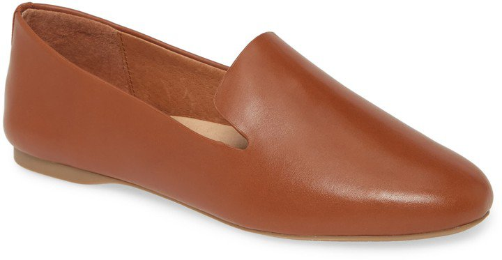 Starling Leather Flat