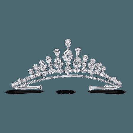 Heart & Marquise Shape Tiara, Diamond | Graff