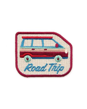 Road Trip Patch – Strange Ways