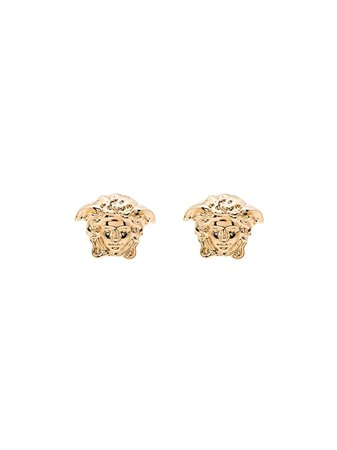 Versace gold-tone Medusa Head Earrings - Farfetch
