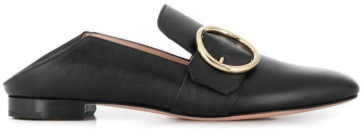 side buckle loafers