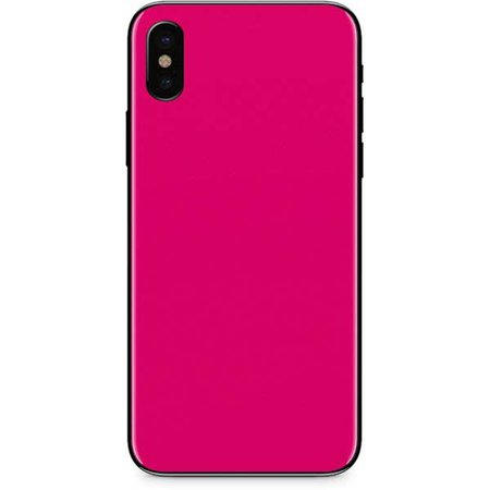 Hot Pink iPhone x case