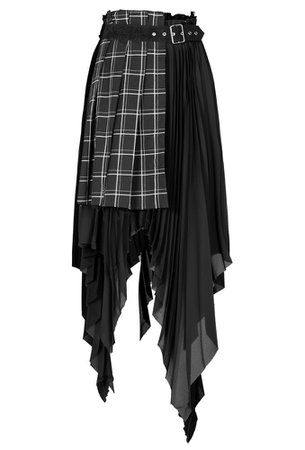 Tartan Witchy Punk Gothic Skirt by Punk Rave | Ladies Gothic
