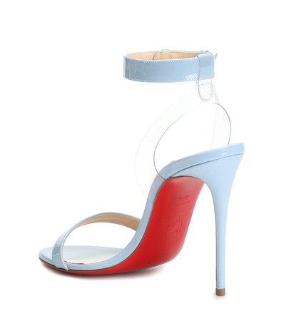 Jonatina 100 Patent Leather Sandals - Christian Louboutin | mytheresa.com