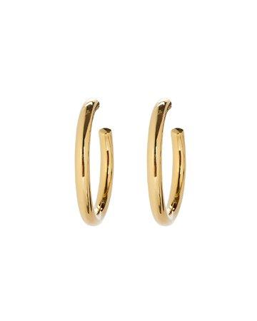 Ela Rae | Vermeil Hoop Earrings | INTERMIX®