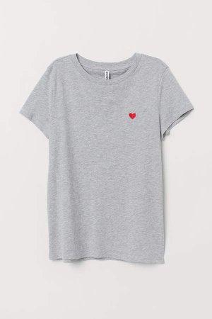 Jersey T-shirt - Gray