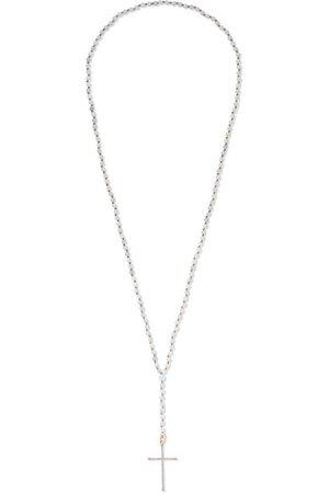 Diane Kordas | 18-karat rose gold, diamond and aquamarine necklace | NET-A-PORTER.COM