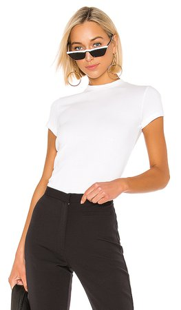 Theory Tiny Tee in White | REVOLVE