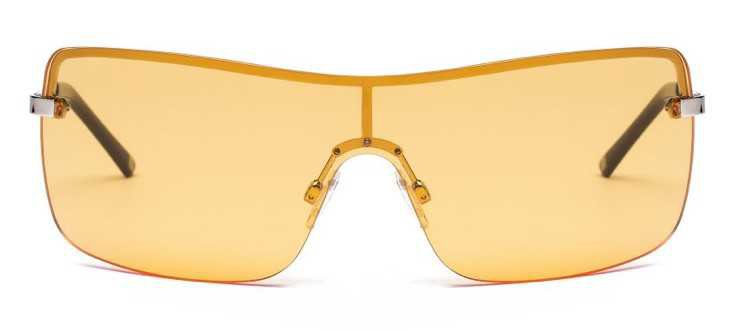 CAROLINA LEMKE Yellow Tali Sunglasses