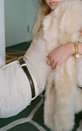 Brinley Fur Vest By Nili Lotan   Moda Operandi