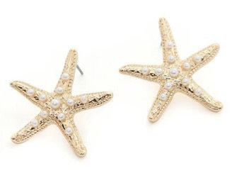 fn starfish studs