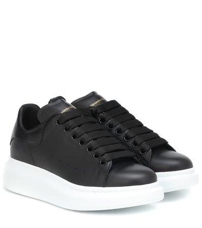Leather Sneakers | Alexander McQueen - mytheresa