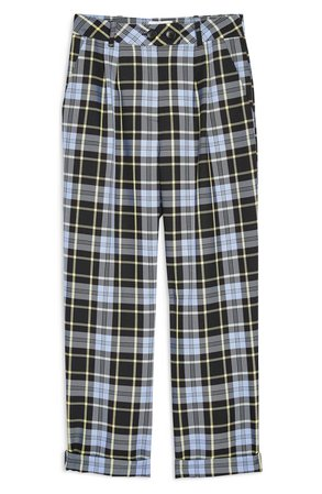 Topshop Punk Check Edie Peg Trousers | Nordstrom