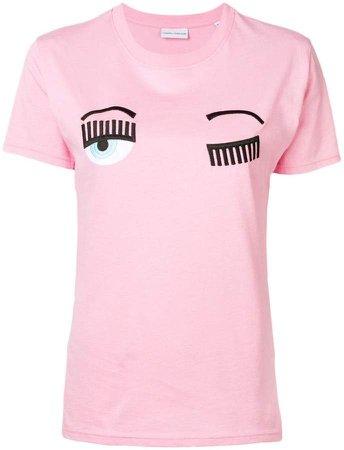 winking eye T-shirt