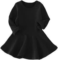 black dress for toddler girl -