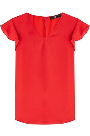 Top with Ruffled Sleeves Gr. DE 38